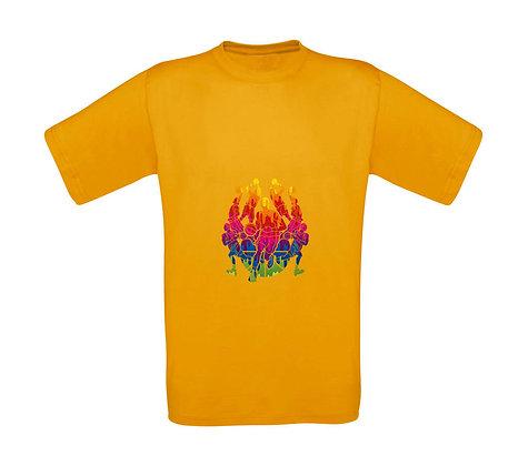 "Kinder T-Shirt ""BASKETBALL TEAM"""