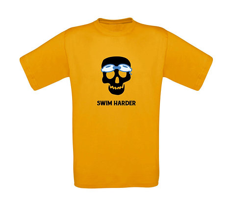 "Kinder T-Shirt ""SWIM HARDER"""
