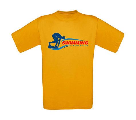 "Kinder T-Shirt ""SWIMMING ATHLETICS"""