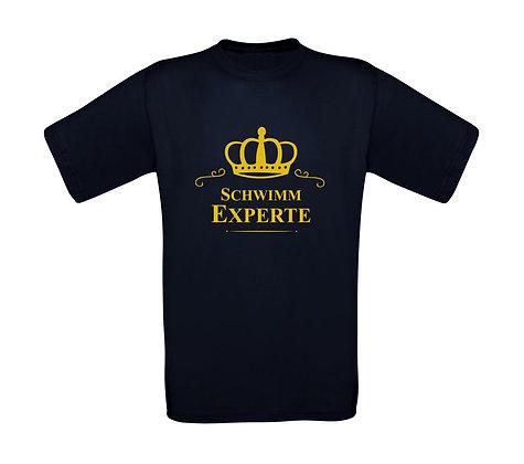 """Kinder T-Shirt """"SCHWIMM EXPERTE"""""""