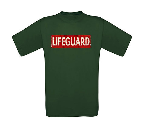"Kinder T-Shirt ""LIFEGUARD"""