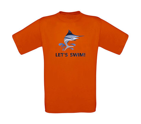 "Kinder T-Shirt ""LETS SWIM"""
