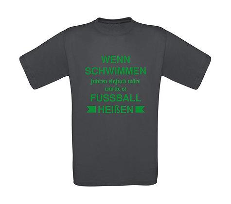 """Kinder T-Shirt """"WENN SCHWIMMEN EINFACH WÄRE..."""""""