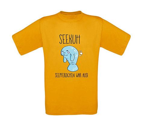 """Erwachsenen T-Shirt """"SEEKUH"""""""