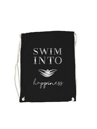 "Gymbag ""SWIM INTO HAPPINESS"""