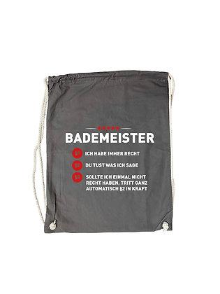 """Gymbag """"BADEMEISTER"""""""