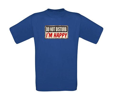 """Erwachsenen T-Shirt """"DO NOT DISTURB"""""""