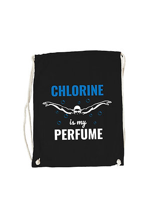 "Gymbag ""CHLORINE IS MY PERFUME"""