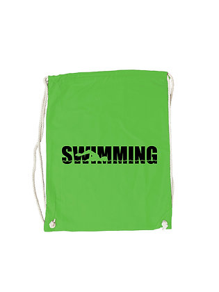 """Gymbag """"SWIMMER SILHOUETTE"""""""