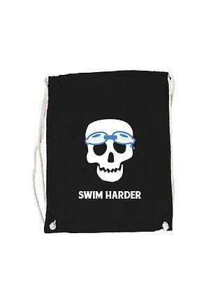 """Gymbag """"SWIM HARDER"""""""