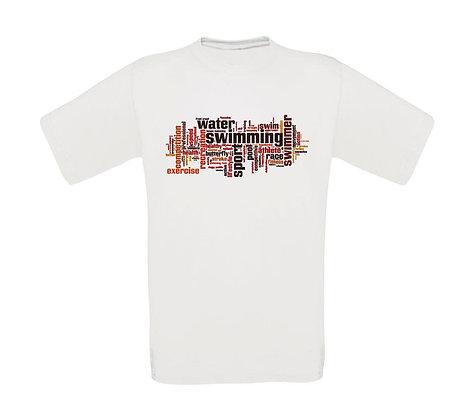 "Kinder T-Shirt ""SWIMMING SCRIBBLE"""