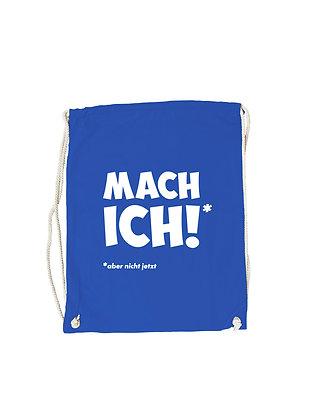 """Gymbag """"MACH ICH"""""""
