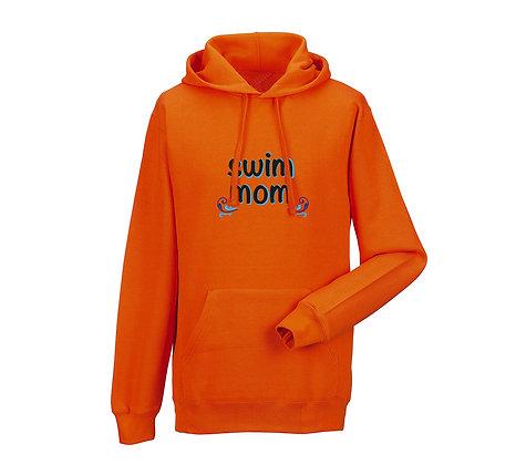 """Erwachsenen Hoodie """"SWIM MOM"""""""