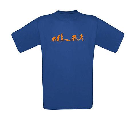 """Erwachsenen T-Shirt """"EVOLUTION TRAITHLON"""""""