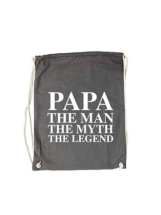 "Gymbag ""PAPA THE LEGEND"""