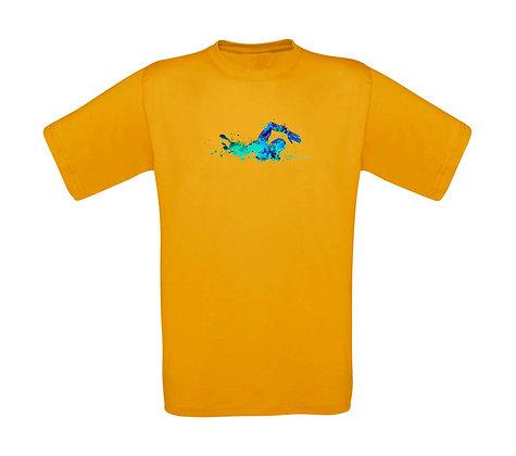 "Kinder T-Shirt ""SCHWIMMER BLUE"""