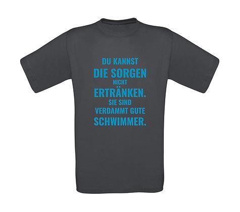 """Erwachsenen T-Shirt """"VERDAMMT GUTE SCHWIMMER"""""""