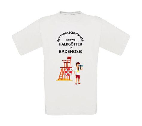 """Erwachsenen T-Shirt """"RETTUNGSSCHWIMMER"""""""