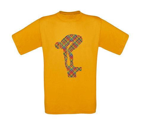 """Erwachsenen T-Shirt """"SCHWIMMER KARO"""""""