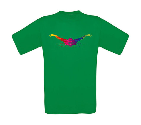 "Kinder T-Shirt ""RAINBOW SWIM"""