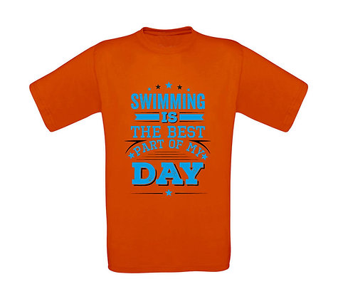 """Erwachsenen T-Shirt """"BEST PART OF MY DAY"""""""