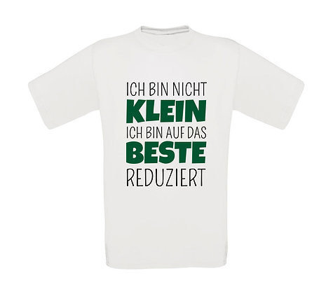 """Kinder T-Shirt """"ICH BIN NICHT KLEIN"""""""