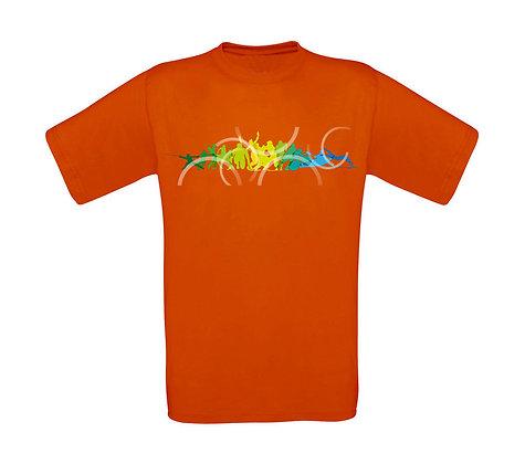 """Kinder T-Shirt """"LETS GO SWIMMING"""""""