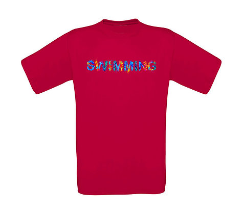 "Kinder T-Shirt ""SWIMMING"""