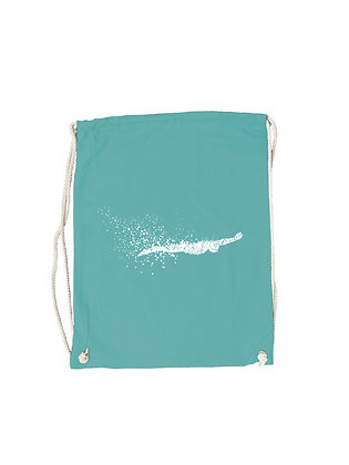 """Gymbag """"SWIMMING SILHOUETTE"""""""