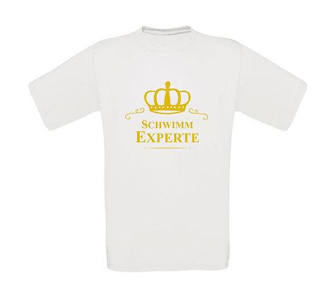 """Erwachsenen T-Shirt """"SCHWIMM EXPERTE"""""""