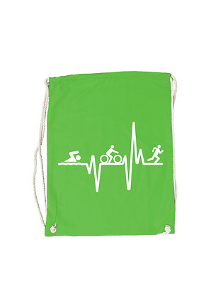 "Gymbag ""TRIATHLON HEARTBEAT"""