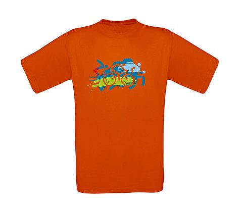"Kinder T-Shirt ""TRIATHLON"""