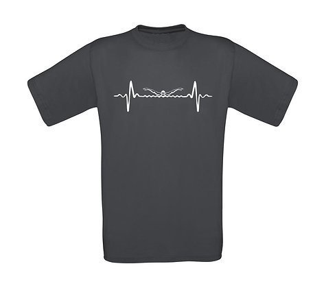"Kinder T-Shirt ""SWIMMING HEARTBEAT"""