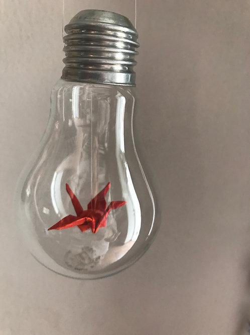 Bird in a bulb