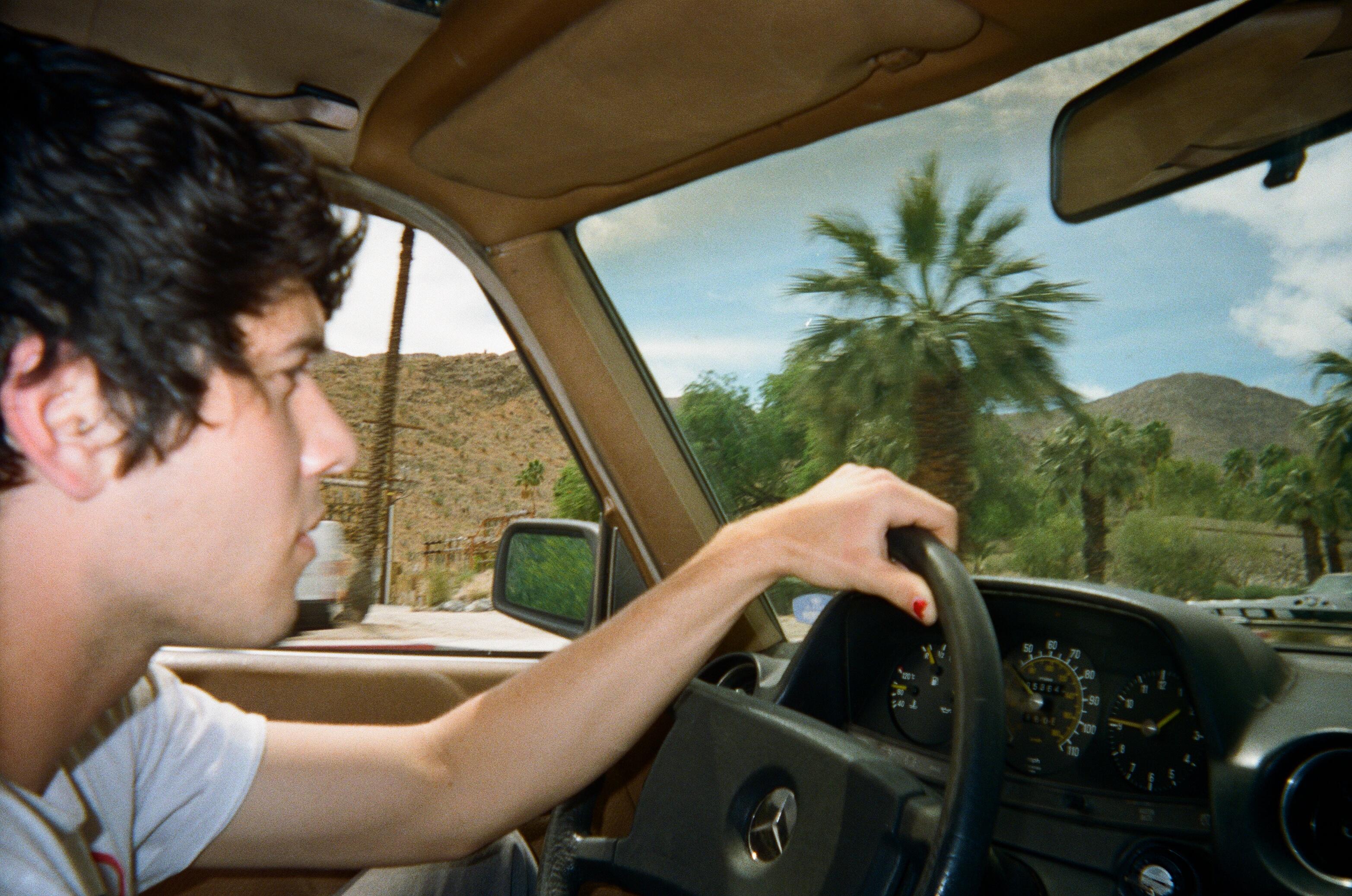 Brad Driving