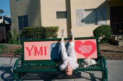 Sasha upside down