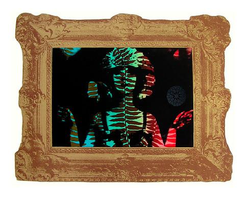 Jane Sampson 'Tigerlily' Screenprint 76 x 56cm Edn 20