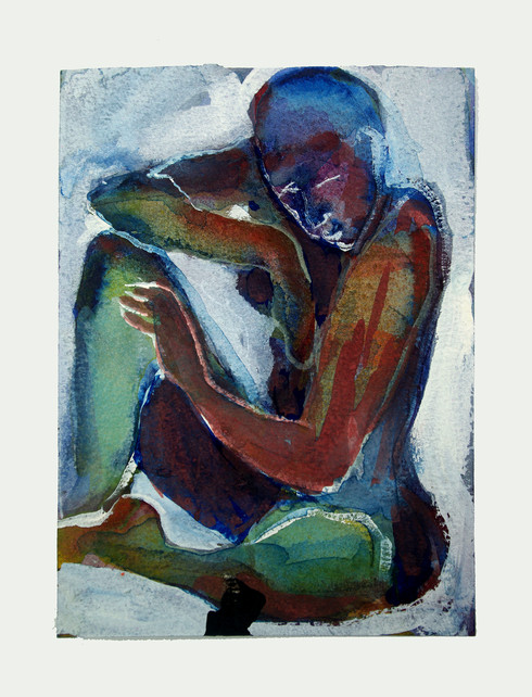 Jane Sampson Watercolour 15 x 20cm