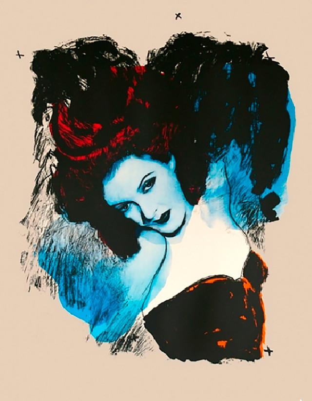 Jane Sampson 'Siren' Screenprint 76 x 112cm Edn 15