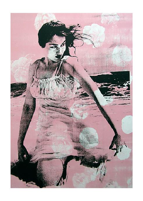 Jane Sampson 'Blanche' Screenprint 76x 1120cm Edn 20