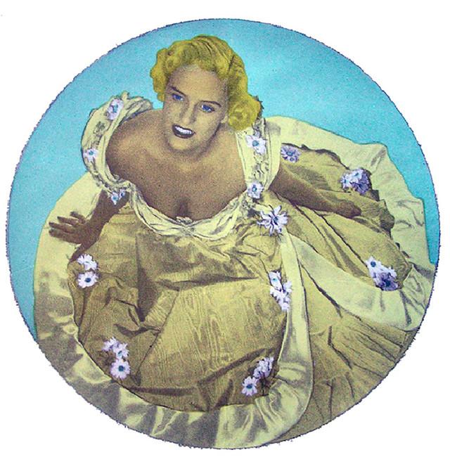 Jane Sampson 'Dream Doreen' Screenprint 60 x 60cm Edn 15