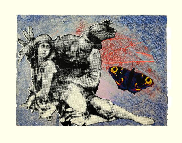 Jane Sampson 'Dancers' Screenprint 56 x 38cm Edn 10
