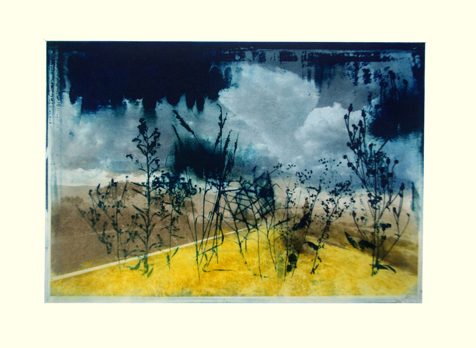 Jane Sampson 'After the Deluge' 2 Photo etching  21 x 30cm A/P