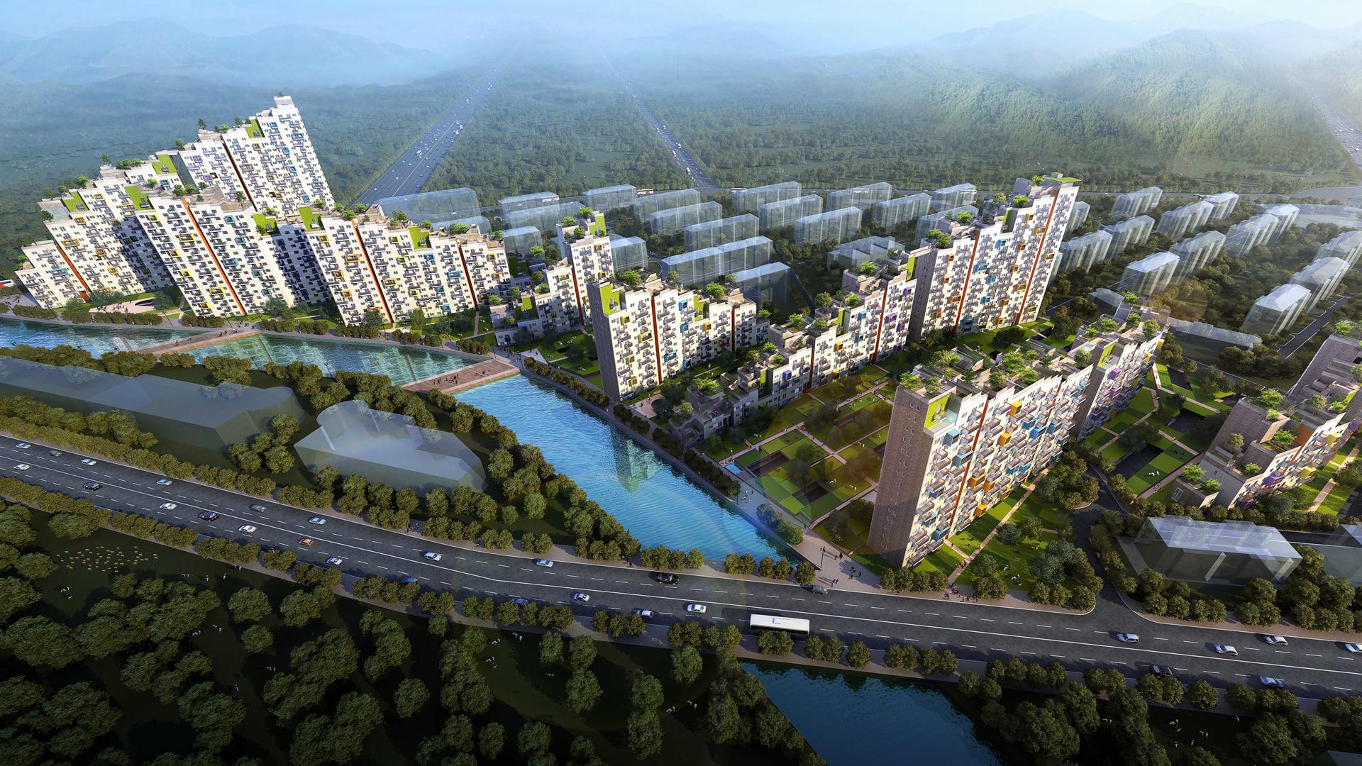 Dalian Eco Town