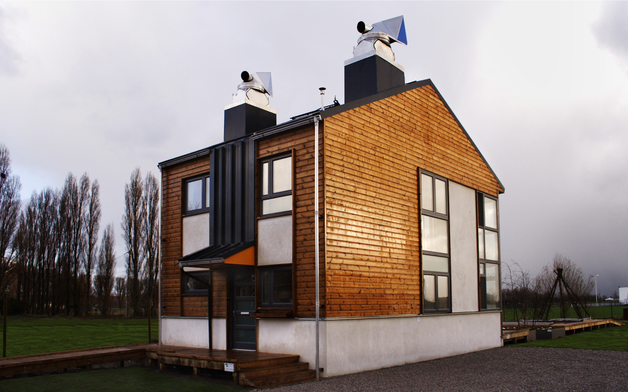 The Zero Carbon Kit House