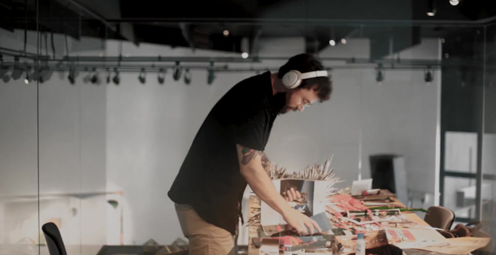 Artist in a box - Modeka 2020