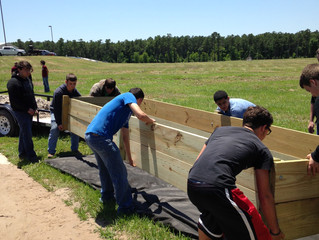 Students from six ISD Participate in 2nd Lake Livingston aquatic planting