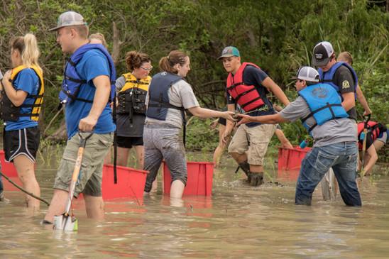 Students at SHSU BearKat Camp
