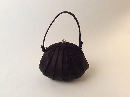 petit sac en satin vintage