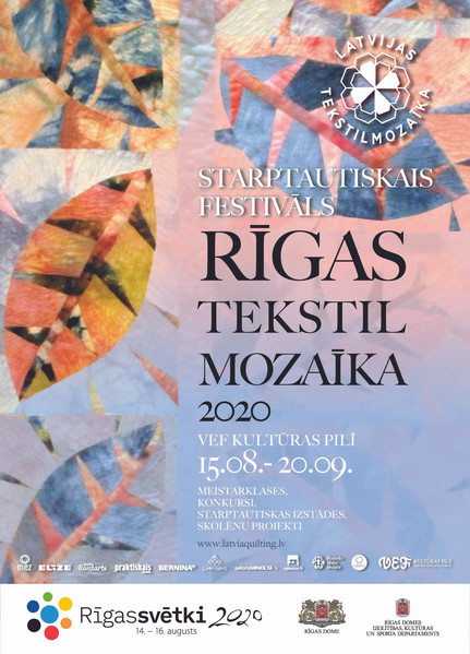 "Festivāls ""Rigas tekstilmozaīka 2020"""